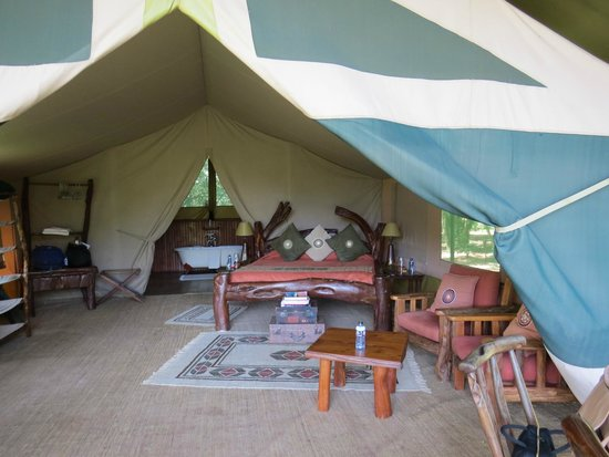 Governors' Il Moran Camp: Our tent