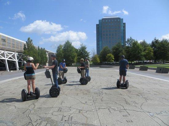 iRide Nashville: Nashville Segway Tour at Bicentennial Park