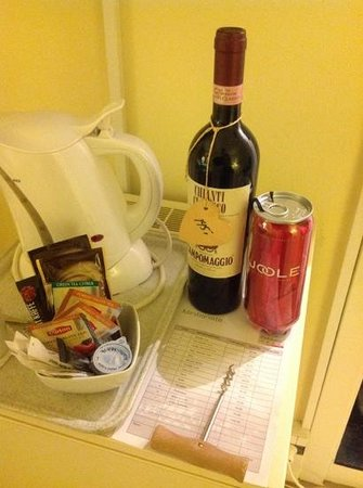 Hellerup Parkhotel: wine and erotic package selection