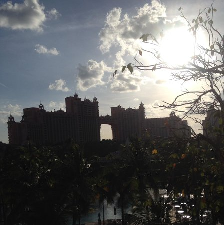 The Coral at Atlantis: View from the room