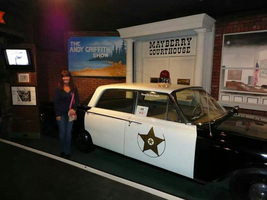 Hollywood Star Cars Museum: Watched this tv show all the time when I was a kid. The Andy Griffith show.