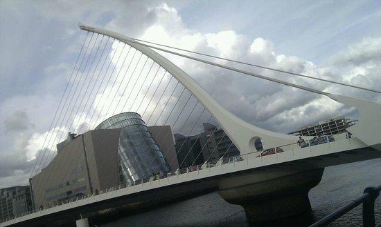 Samuel Beckett Bridge : Samuel-Becket-Brigde