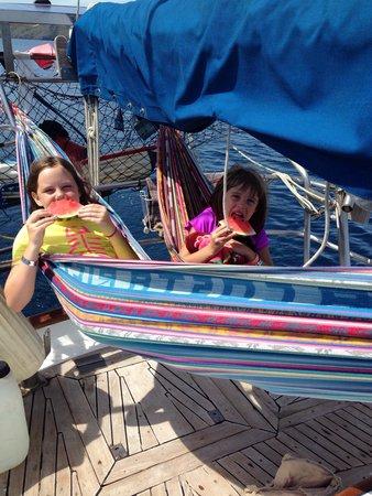 The Seabird Sailing Catamaran Tours: Pirates life.