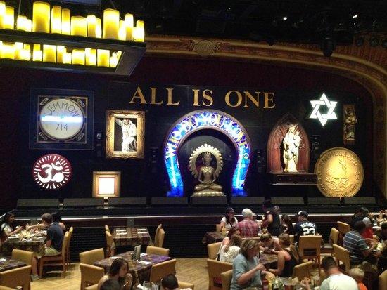 Hard Rock Cafe : decoração