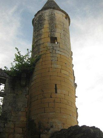 Château de Commarque: Tower at Chateau de Commarque