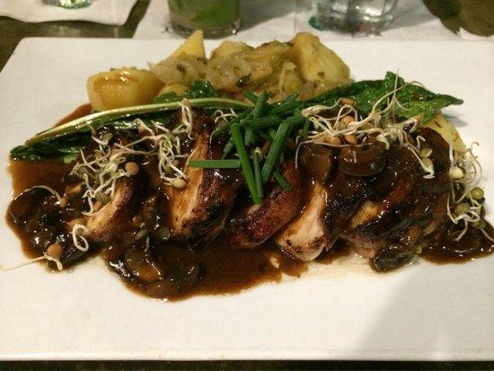 La Jaquita Baya : Pollo enrollado - delicious!!!