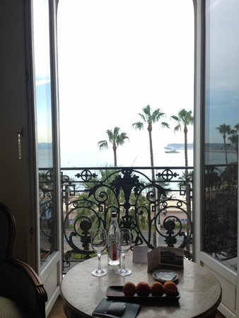 InterContinental Carlton Cannes: View from my room