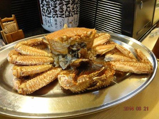 Yosuko: Crab so called KEGANI