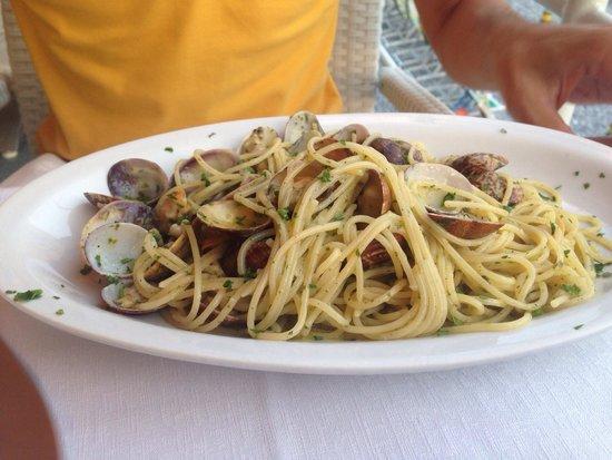 Osteria delle 7 Pance: Spaghetti alle vongole