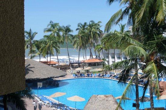 El Cid Castilla Beach Hotel: Vista desde la habitación...