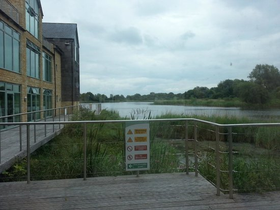 De Vere Cotswold Water Park: view from room
