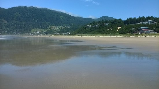 San Dune Inn: Beautiful Manzanita Beach