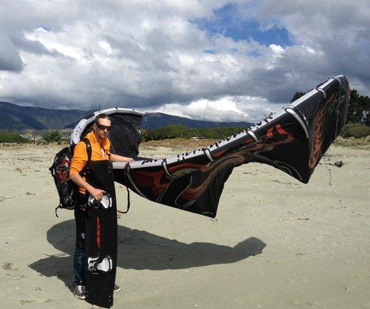 Kitesurf Nelson: me and my gear