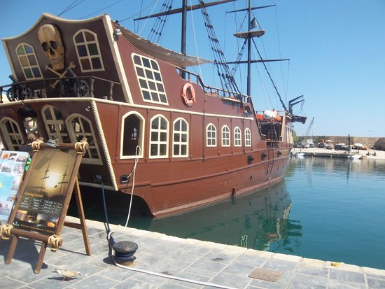 Theartemis Palace Hotel: The pirate ship