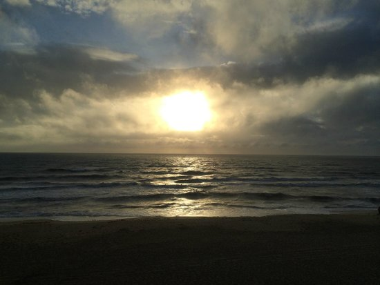 Comfort Inn South Oceanfront: sunrise