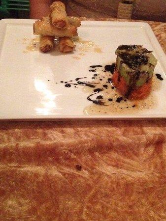 Elizir: Spring rolls di salmone affumicato