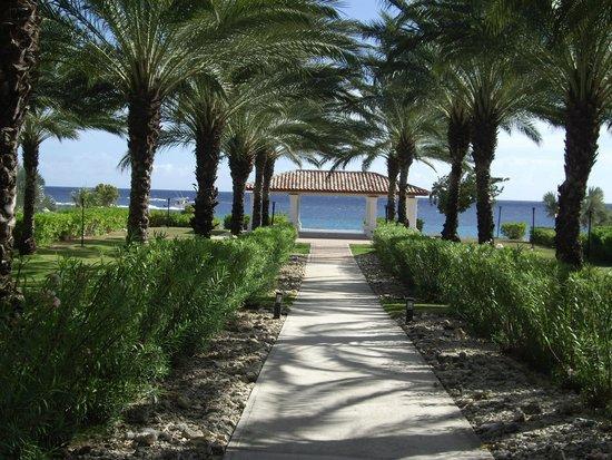 Santa Barbara Beach & Golf Resort, Curacao : Perfectly manicured grounds