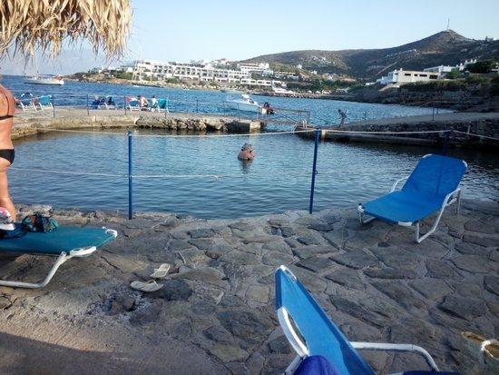 Elounda Breeze Resort: Лагуна