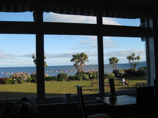 The Falmouth Hotel: View from restaurant window