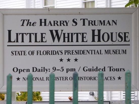Harry S. Truman Little White House: Foto de la entrada