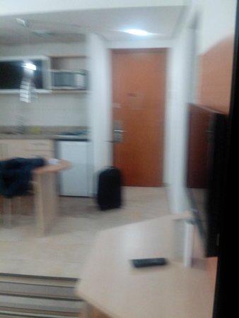 Mercure Santos : Sala/Cozinha