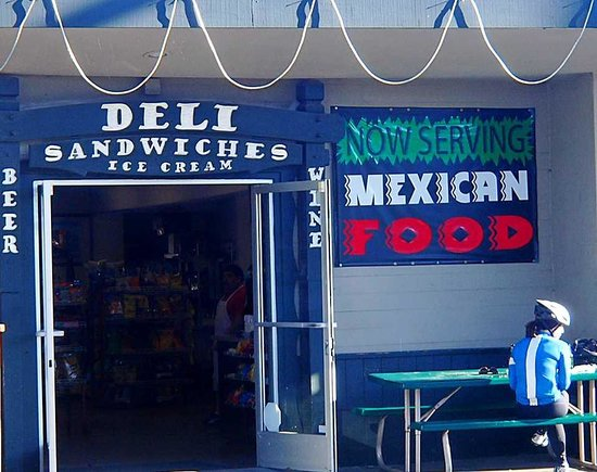 Whale of a Deli and Market: Entrance