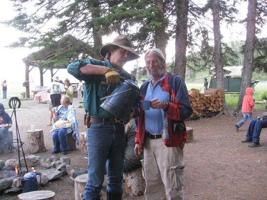 Roosevelt Lodge Cabins : Cowboy Cookout, Cowboy Coffee