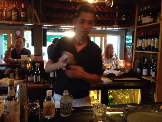 Charmant Lucu0027s Cafe: The Great Barman