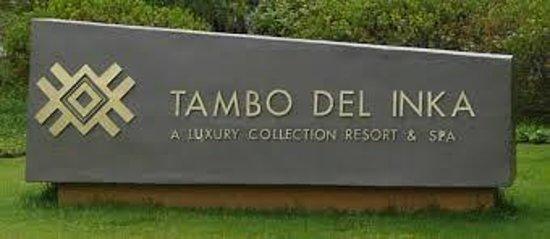 Tambo del Inka, A Luxury Collection Resort & Spa, Valle Sagrado: Entrada