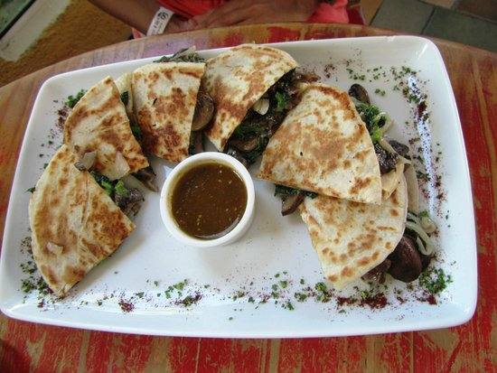 Mango Cafe: Veggie quesadilla
