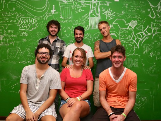LimeTime Hostels: Good looking staff
