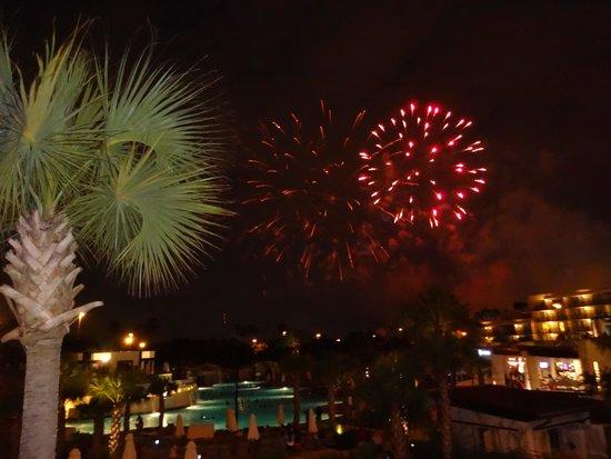Orlando World Center Marriott: Fireworks