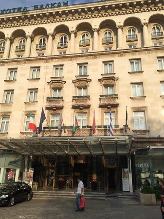 Sofia Hotel Balkan, a Luxury Collection Hotel : Entrance