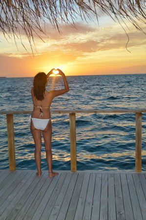 Meeru Island Resort & Spa : sunset