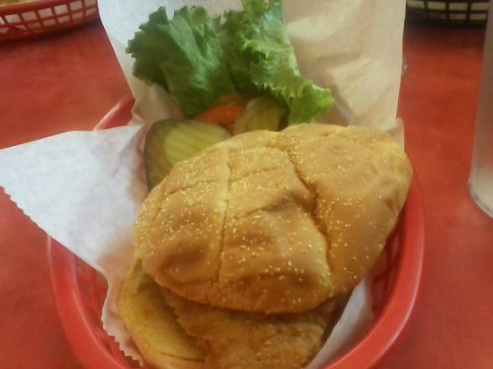 Colo, IA: Breaded Chicken Sandwich