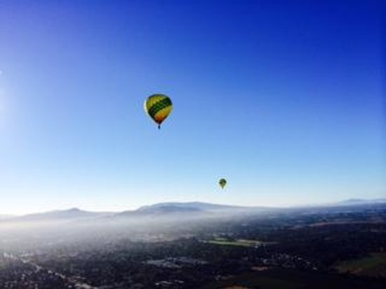 Up & Away Ballooning: What a VIEW!