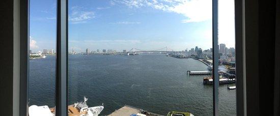InterContinental Hotel Tokyo Bay : 窓からの景色