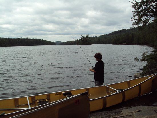 Clearwater Historic Lodge: Fishing