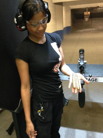 Gun Garage: Janis and the 50 Cal.