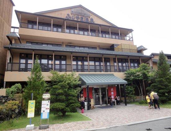 Fujiyama Onsen: 外観