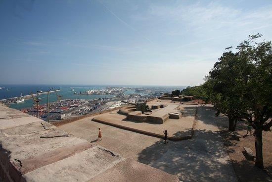 Montjuic Castle: view