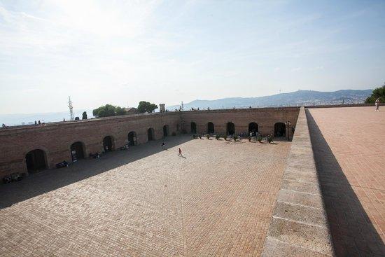 Montjuic Castle: the castle