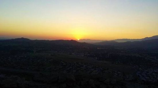 Mount Rubidoux Park: Sunsetting from the top of Mount Roubidoux