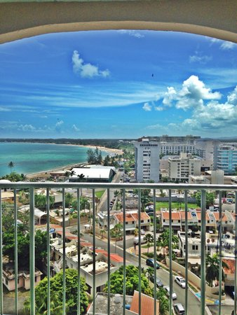 ESJ Towers: View from balcony