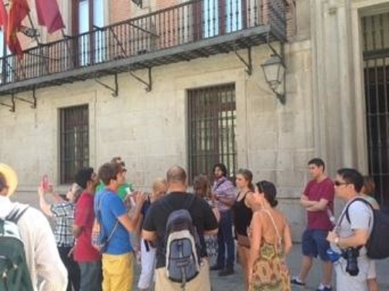 SANDEMANs NEW Europe - Madrid: getting our tour on