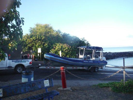 "Blue Water Rafting : the ""raft"""