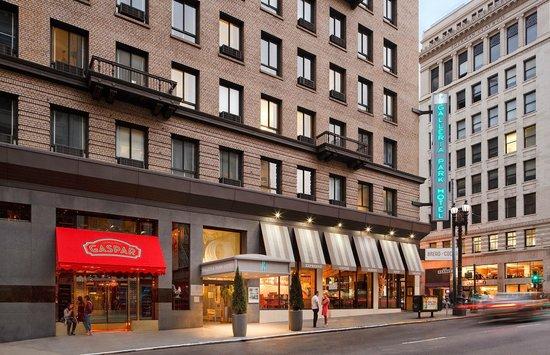 Galleria Park Hotel: Galleria Park's Porte Chochere