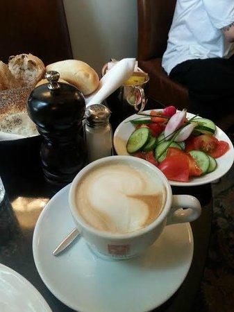 Hotel Montefiore: завтрак