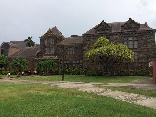 Bishop Museum: Original building