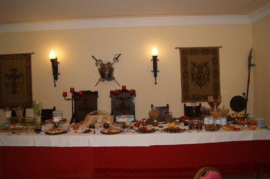 Hotel Real D'Obidos : Linda mesa do café da manhã